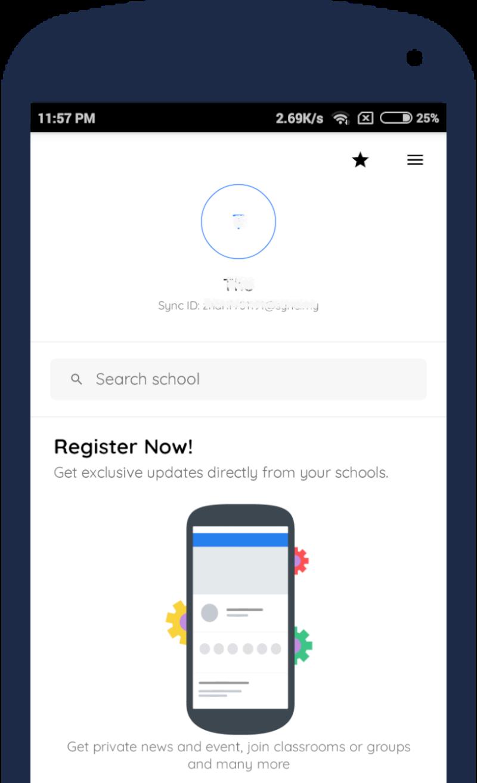 Sync Profile Page