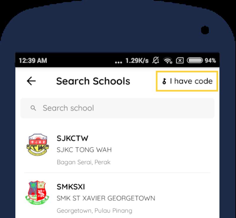 Search School - Code